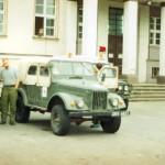 Kêdzierzyn-KoŸle, siedziba sztabu kryzysowego, miejsce naszego zakwaterowania.