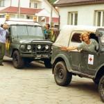 W lipcu 1997 uazem pojecha³em do Wroc³awia pomagaæ powodzianom